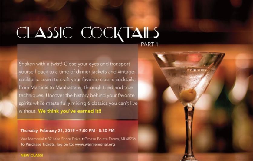 Classic Cocktails-Part 1 | Edible WOW