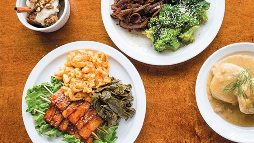 Vegan soul food satisfies in detroits west village edible wow lazy brunchgoers cozy up to mugs of organic coffee and dirty chai its frigid outside but inside detroit vegan soul patrons are toasty forumfinder Gallery