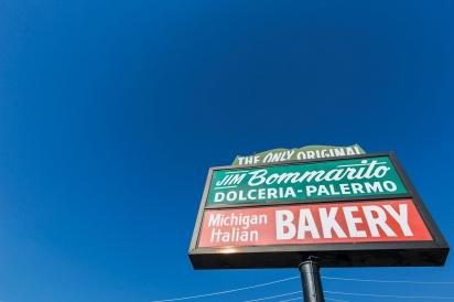 Bommarito Bakery sign