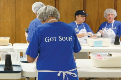 motown soup volunteer