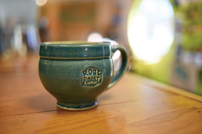 roos roast coffee mug