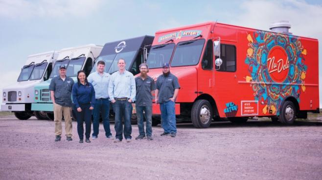 Detroit Custom Coach Food Trucks' crew