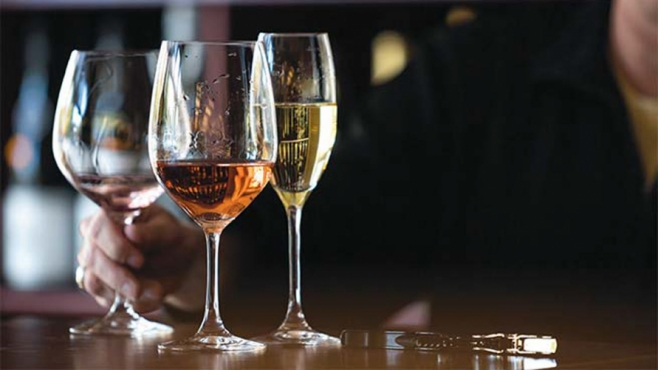 michigan wine assortment