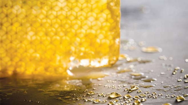 honey drippings